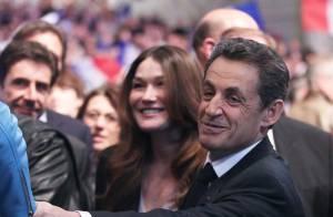 Carla Bruni au premier rang pour soutenir Nicolas: Elle l'a trouvé 'merveilleux'