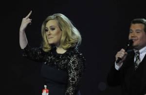 Brit Awards 2012 : Adele coupée, très énervée et spoliée par One Direction