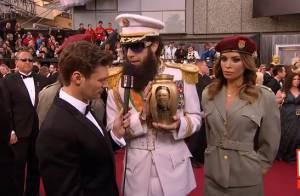 Oscars 2012 : Le dictateur fou provoque son scandale à Hollywood