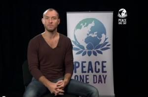 Jude Law : Engagé pour la paix, il appelle à l'aide