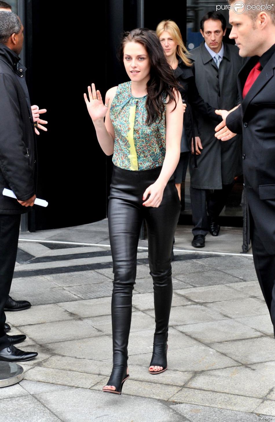 Kristen Stewart était ravissante et très stylée lors du ...