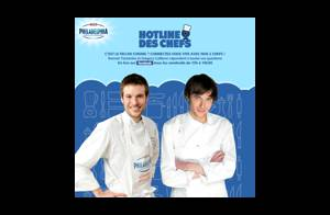 Top Chef : Grégory et Romain Tischenko lancent une hotline culinaire