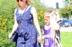 Reese Witherspoon rayonne pour accompagner son fils dans ses exploits