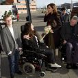Malgré un emploi du temps serré, la princesse Mary de Danemark a pris le temps de quelques rencontres, lors de l'inauguration le 5 mars 2012 de la Conférence européenne de Copenhague sur le Handicap.