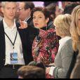 Chantal Jouanno lors du meeting de Nicolas Sarkozy à Villepinte le 11 mars 2012