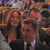 Carla Bruni au meeting de Nicolas Sarkozy : ''C'est très enthousiasmant !''