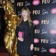 Victoire de Castellane à la première VIP de la revue  Feu  du Crazy Horse, à Paris, le 12 mars 2012.