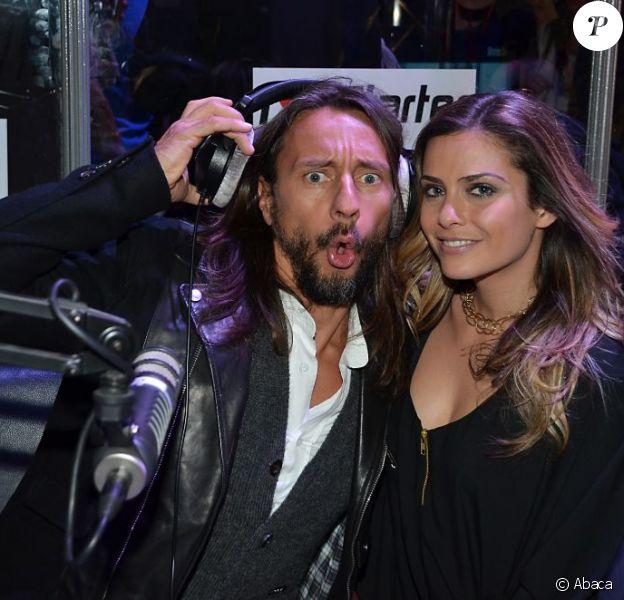 Bob Sinclar et Clara Morgane au Salon du Deejaying, Mixmove, à Paris le 11 mars 2012