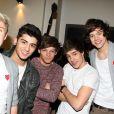 One Direction à Paris, le 15 février 2012.