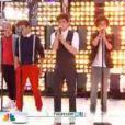 Les One Direction interprètent  More Than This  au Today Show, sur NBC, à New York, le 12 mars 2012.