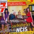 Le magazine  Télé 7 Jours  en kiosques le lundi 26 mars 2012.