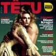 Diane Kruger en couverture du magazine Têtu (avril 2012)
