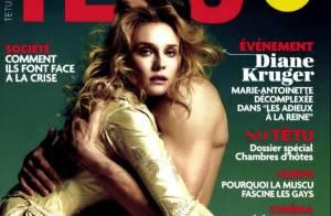 Diane Kruger, royale : dans les bras d'un homme nu, elle offre ses confidences