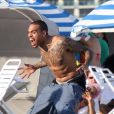 Chris Brown à Miami, le 17 février 2012.
