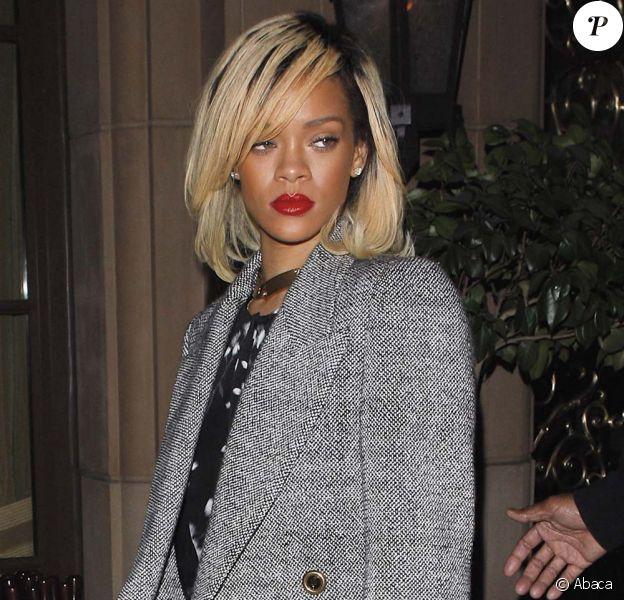 Rihanna à Los Angeles, le 19 mars 2012.