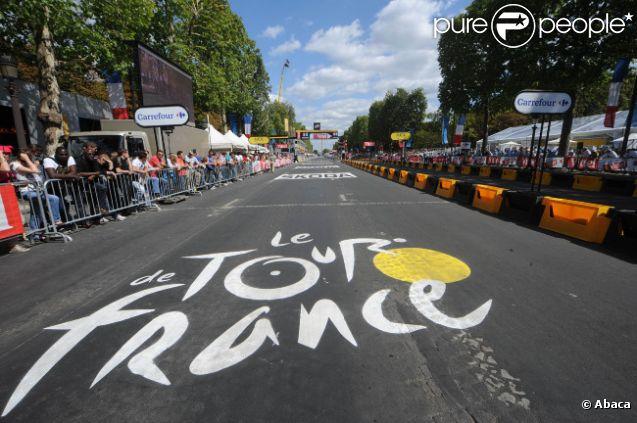 Image d'ambiance du Tour de France