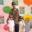Travis Barker aux Kid's Choice Awards, Los Angeles, le 31 mars 2012