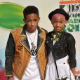 Willow Smith et son frère Jaden Smith aux Kid's Choice Awards, Los Angeles, le 31 mars 2012
