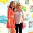 Jennie Garth et sa fille Luca Facinelli aux Kid's Choice Awards, Los Angeles, le 31 mars 2012.