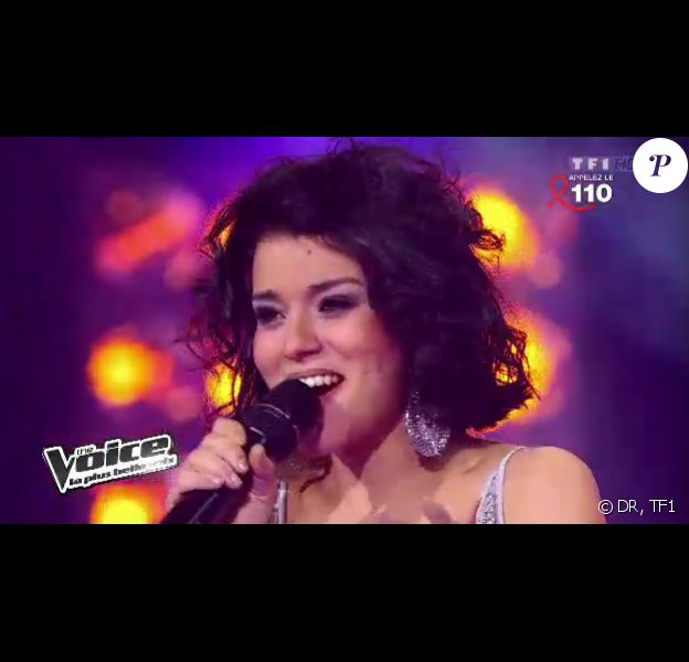Sonia Lacen, talent de Jenifer dans The Voice