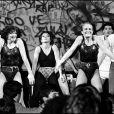 Véronique et Davina lors de l'émission Gym Tonic en 1982
