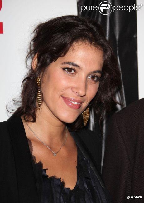 Laurie Cholewa pose lors du Festival 2 Cinéma, à Valenciennes, le mercredi 4 avril 2012.