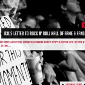 Guns N'Roses au Hall of Fame : Axl Rose pète les plombs, refuse et balance !