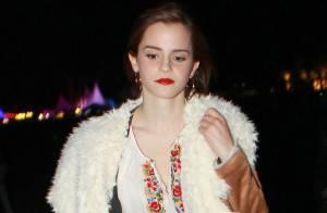 Emma Watson : Surprise à Coachella avec son nouveau petit ami, un bel étudiant