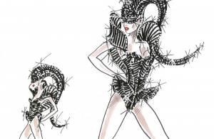 Lady Gaga : Encore plus italienne pour son Born This Way Tour grâce à Armani