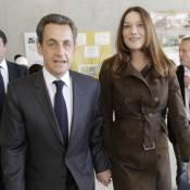 Nicolas Sarkozy détendu à côté d'une Carla rayonnante pour leur dernière sortie
