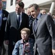Nicolas Sarkozy et Christian Estrosi à Nice le 20 avril 2012