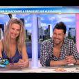 Sylvia Jagieniak et Nicolas Suret sur le plateau des Anges de la télé-réalité 4 - Le Mag le lundi 23 avril 2012 sur NRJ 12