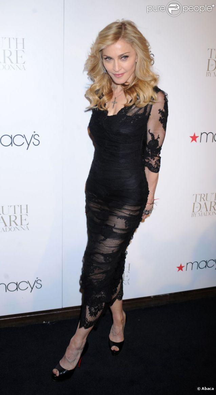 Madonna à New York en avril 2012