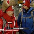 Jean-Pierre et François dans Pékin Express - Le Passager Mystère sur M6 le mercredi 25 avril 2012