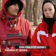 Frédéric et Jessica dans Pékin Express - Le Passager Mystère sur M6 le mercredi 25 avril 2012