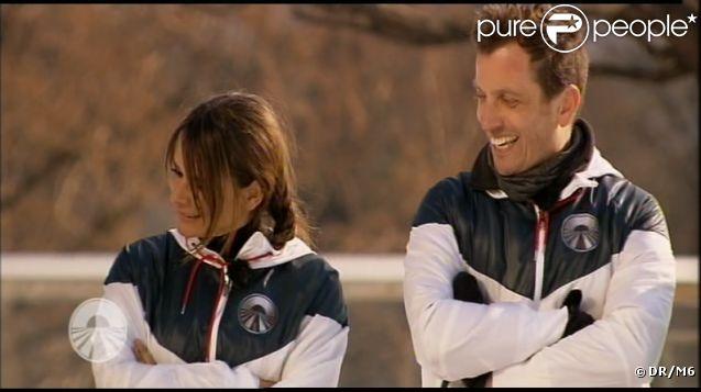 Joël et Cécilia dans Pékin Express - Le Passager Mystère sur M6 le mercredi 25 avril 2012