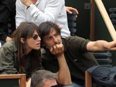 PHOTOS : Charlotte Gainsbourg et Yvan Attal, en mode Roland-Garros !