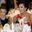 Kim Kardashian et sa mère Kris Jenner lors du traditionnel dîner des correspondants de la Maison Blanche le 28 avril 2012 à Washington DC