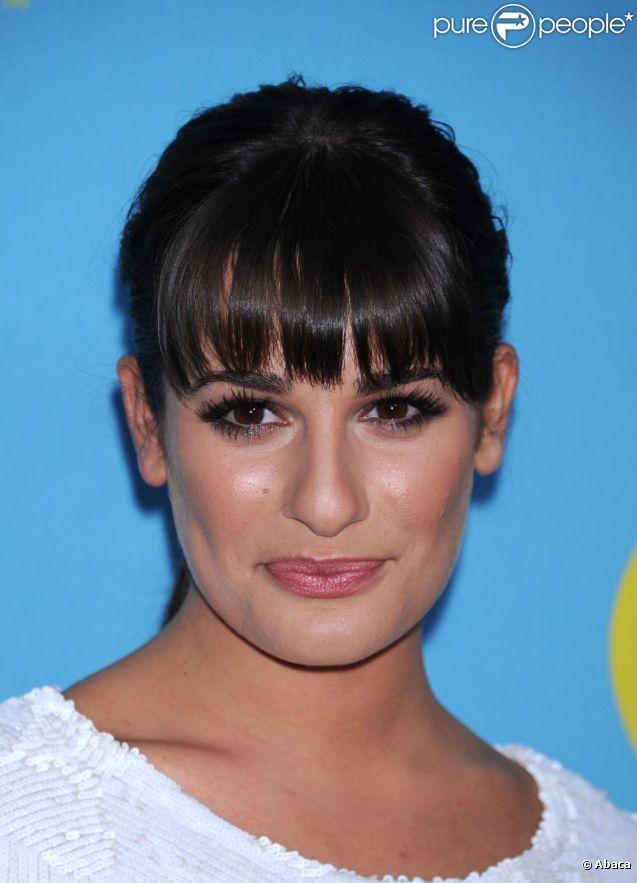 La superbe Lea Michele assiste à la projection Glee, tenue à l'Académie des Arts et des Sciences de la Télévision. North Hollywood, le 1er mai 2012.