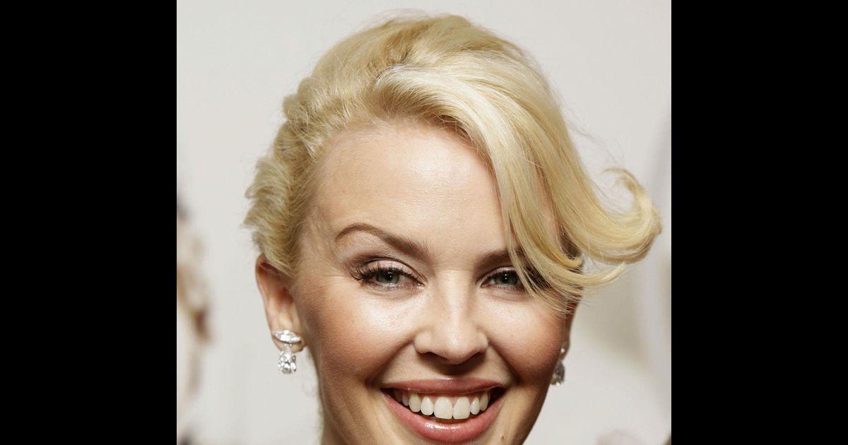Kylie Minogue à Paris