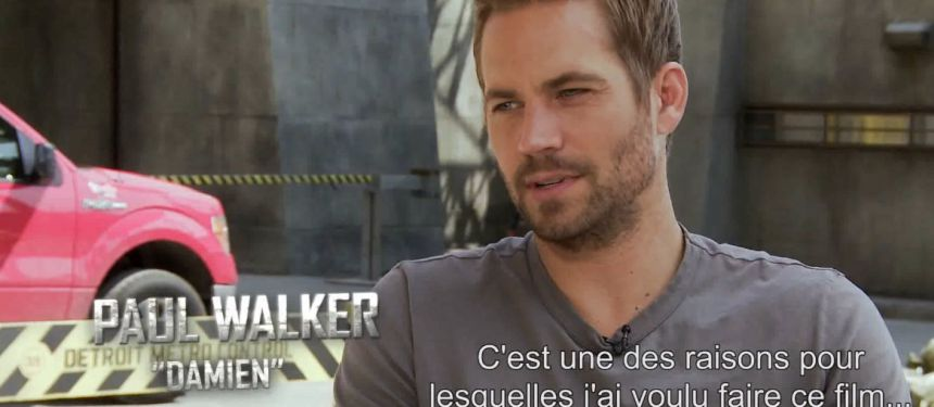 Paul Walker dans Brick Mansions
