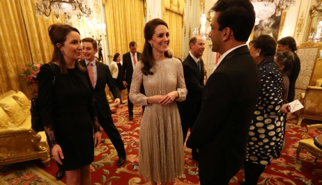 Elégance bollywoodienne à Buckingham