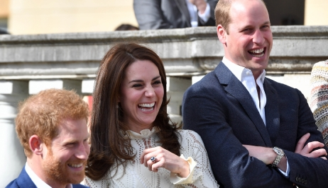 Kate Middleton, William et Harry