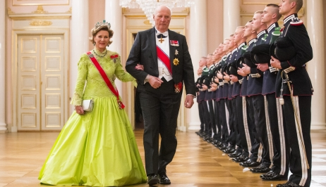 Harald et Sonja de Norvège